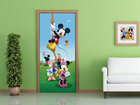Fleece kuvatapetti DISNEY MICKEY ON A ROPE 90x202 cm ED-91002