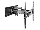 TV-seinäteline SlimStyle 400 SDRP musta HG-91048