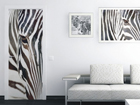 Fliis-fototapeet Zebra 90x202 cm