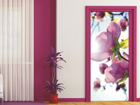 Fliis-fototapeet Flowers in the sun 90x202 cm