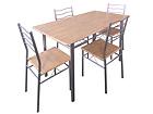Ruokapöytä BAREMEN+4 tuolia