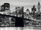 Fliis-fototapeet Brooklyn bridge 360x270 cm ED-94812