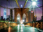 Fleece kuvatapetti BROOKLYN BRIDGE 6 360x270 cm ED-94888