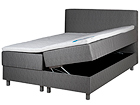 HYPNOS sänky 160x200 cm kahdella vuotevaatelaatikolla