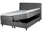 HYPNOS sänky 140x200 cm kahdella vuodevaatelaatikolla FR-96058