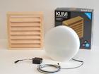 LED saunavalgusti puitrestiga Kuivi