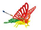 3D palapeli Värikäs perhonen UP-97432