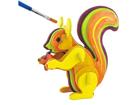 3D pusle Värviline orav UP-97437