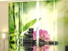 Läbipaistev paneelkardin Orchids and Sun 240x240 cm