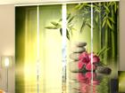 Läbipaistev paneelkardin Bamboo Leaves 240x240 cm