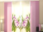 Полузатемняющая панельная штора Crocuses 240x240 см ED-97513