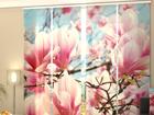 Läbipaistev paneelkardin Magnolias 240x240 cm