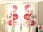 Läbipaistev paneelkardin Scarlet Song 240x240 cm