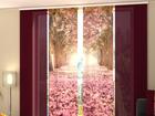 Läbipaistev paneelkardin Alley Magnolias 240x240 cm ED-97630