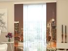 Läbipaistev paneelkardin Evening Manhattan 80x240 cm