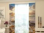 Läbipaistev paneelkardin Sea and Stones 80x240 cm