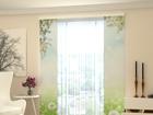 Полузатемняющая панельная штора White Dandelions 80x240 cm