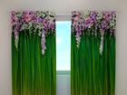 Полузатемняющая штора Flower Lambrequins 240x220 cm ED-97931