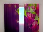 Полузатемняющая штора Fuchsia flowers 240x220 cm ED-97985