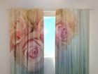 Läbipaistev kardin Gentle roses 240x220 cm