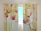 Полузатемняющая штора Goldish orchids 240x220 см ED-98078