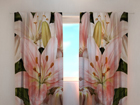 Pimendav kardin Gorgeous lilies 240x220 cm