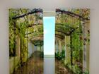 Полузатемняющая штора Green archway 240x220cm ED-98135