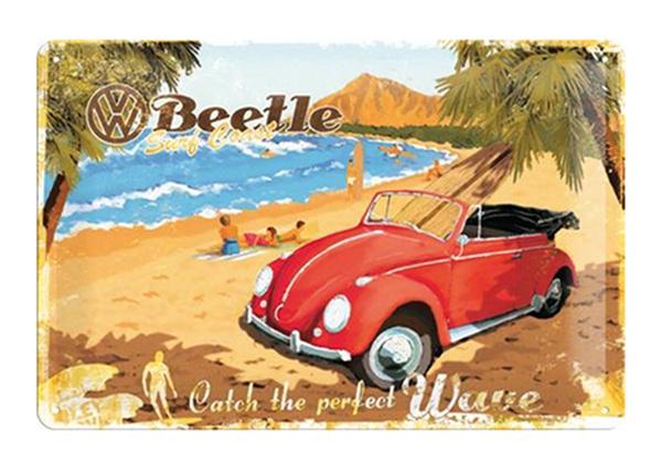 Металлический постер WV Beetle 20x30 см SG-98163