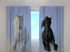 Полузатемняющая штора Horses 1, 240x220 cm ED-98185