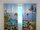 Полузатемняющая штора Hotel 240x220 cm ED-98197