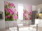 Полузатемняющая штора Pink Overtones 200x120 см