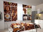 Puolipimentävä verho COFFEE AFRICA 200x120 cm