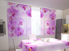 Pimennysverho KITCHEN IN ORCHIDS 200x120 cm ED-98351
