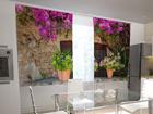 Poolpimendav kardin Flower pots for the kitchen 200x120 cm ED-98488