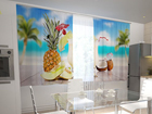 Pimennysverho HAWAII IN THE KITCHEN 200x120 cm ED-98587