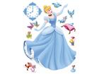 Seinakleebis Disney Cinderella 42,5x65 cm ED-98670