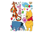 Seinakleebis Disney Winnie the Pooh and friends 42,5x65 cm ED-98676