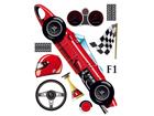 Seinakleebis Formula 1, 42,5x65 cm ED-98687