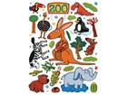 Seinakleebis Zoo 65x85 cm ED-98731
