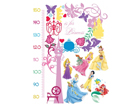 Seinakleebis Disney Princess measure of growth 65x85 cm ED-98739