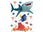 Seinakleebis Disney Nemo 65x85 cm ED-98741