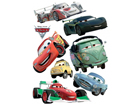Настенная наклейка Disney Cars 2 McQueen and Francesco Bernoulli 65x85 cm ED-98749