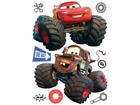 Seinakleebis Disney car with big wheels 65x85 cm ED-98758