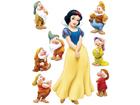 Seinakleebis Disney Snow White 65x85 cm ED-98822