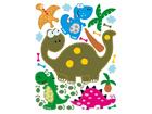 Seinakleebis Dinosaur 65x85 cm ED-98913