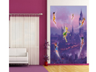 Fleece kuvatapetti DISNEY FAIRIES IN LONDON 180x202 cm ED-99090