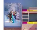 Fliis-fototapeet Disney Ice Kingdom 180x202 cm