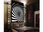 Fliis-fototapeet Spiral 180x202 cm