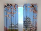 Полузатемняющая штора Japan Himeji Castle 240x220 cm ED-99298