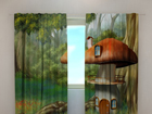 Полузатемняющая штора Little mushroom 240x220 cm ED-99382